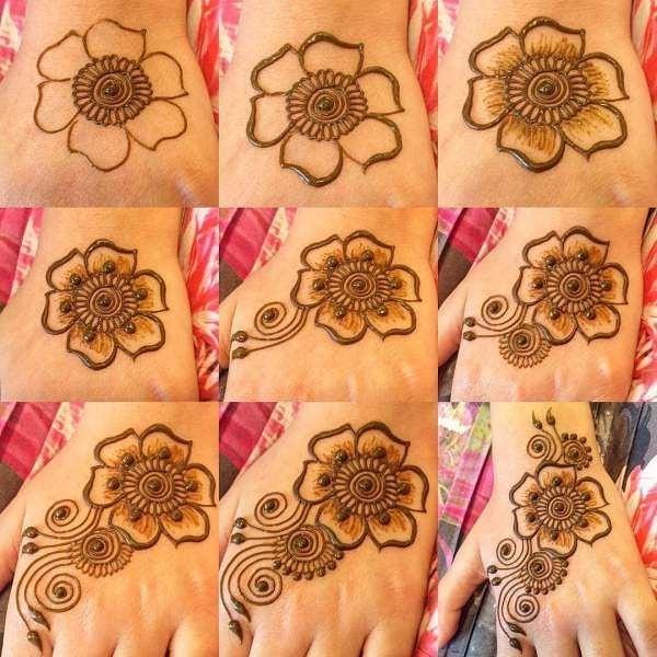 arabic mehndi designs for Diwali