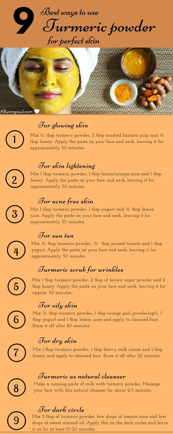 10 Turmeric Face Mask For Glowing And Beautiful Skin
