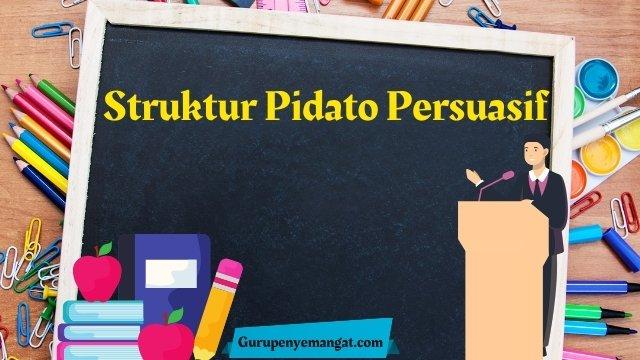 Begini Struktur Pidato Persuasif
