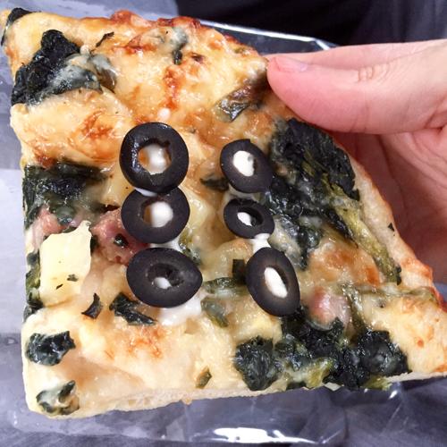六文銭ピザ