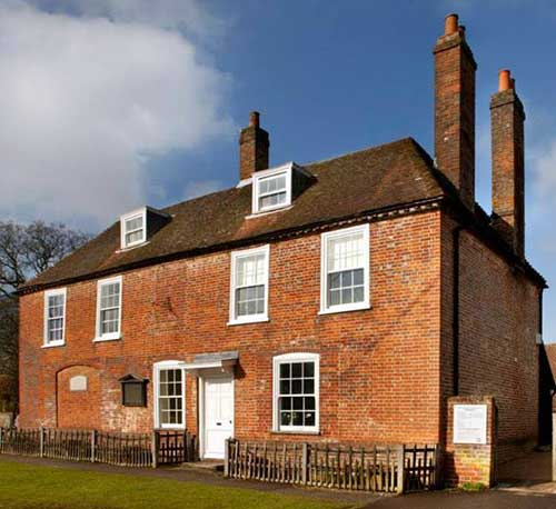 Jane Austen's House Museum, Winchester, UK.