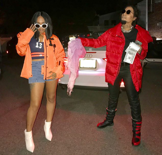 Couple channel Cardi B and Offset for Halloween