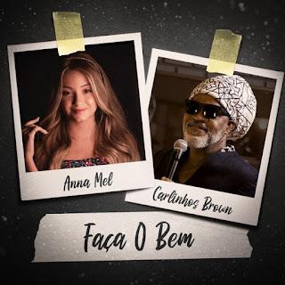 Anna Mel lançou música e clipe com  Carlinhos Brown
