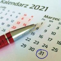 Kalendarz. Ostatnie chwile promocji: marzec 2021