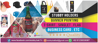 Stubby Holders Bali - Kang Deni Printing Production House Banner