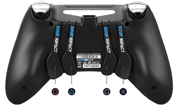 SCUF Impact Controller (Back)