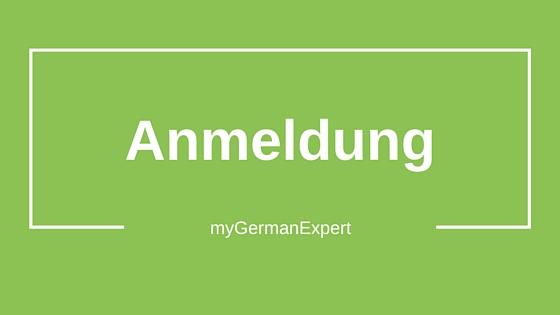Anmeldung Germania