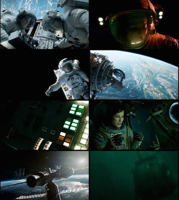 Gravity 2013 Dual Audio Hindi BluRay 720p