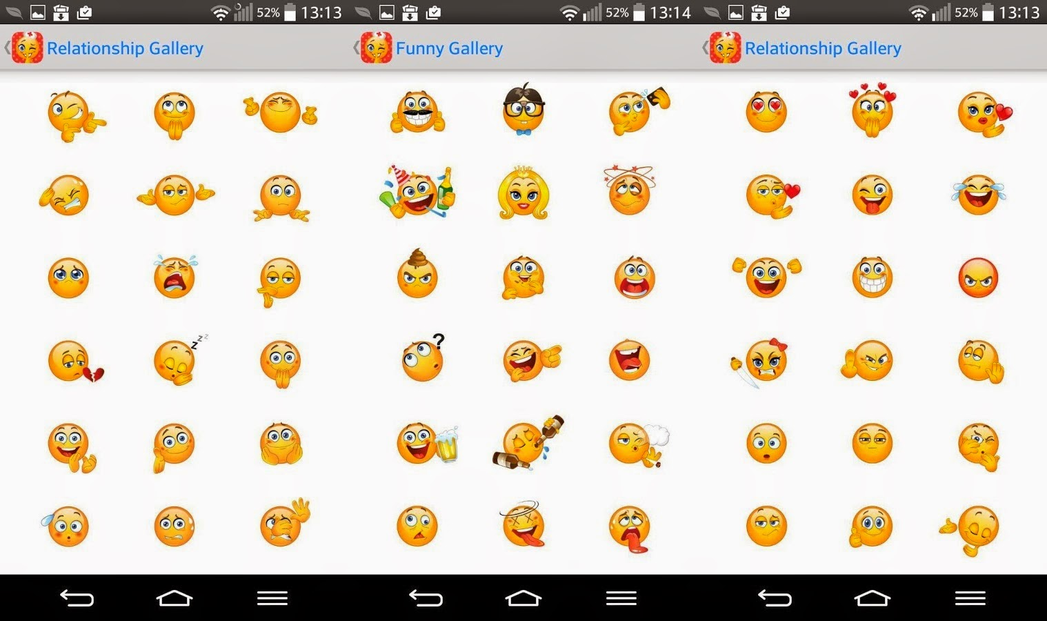 Free Emojis App For Android