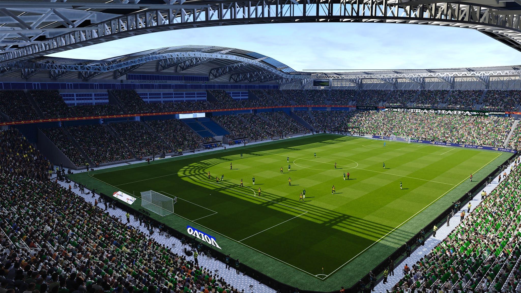 PES 2021 Sammy Ofer Stadium