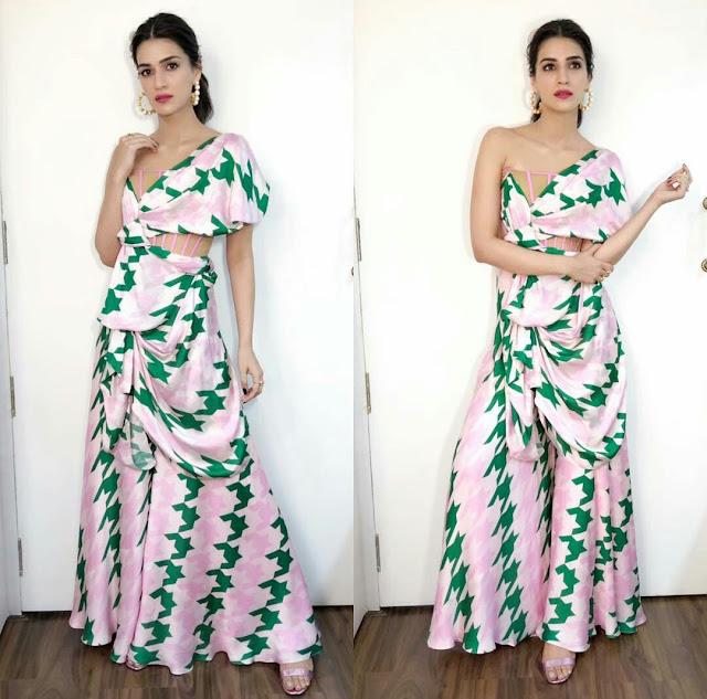 Kriti Sanon HD Wallpaper Pink Dress