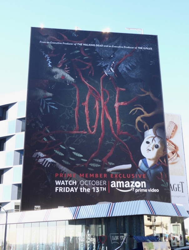 Giant Lore season 1 billboard
