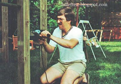 Barry 1983 building the playset https://jollettetc.blogspot.com