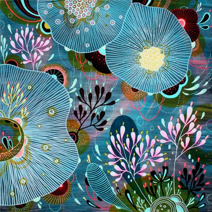 Whispered Whimsy Vintage Yellena James Organic Surrealism