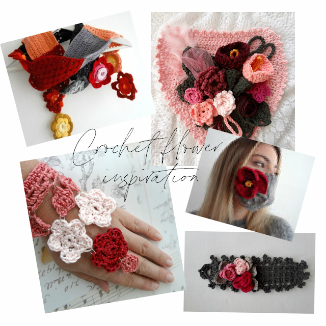 Inspiring Ideas to Use Crochet Flowers in Projects