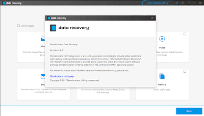 Download Wondershare Data Recovery 6.6.1.0 Full Crack Version Patch Keygen