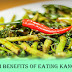 Water Spinach Or Kangkong's For Treating Anaemia And Preventing Heart Diseases