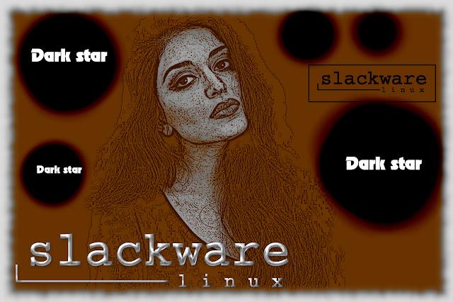 Slackware DarkStar Girl