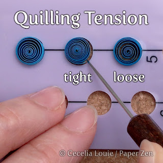 How to Use Quilling Circle Template Boards - Tension