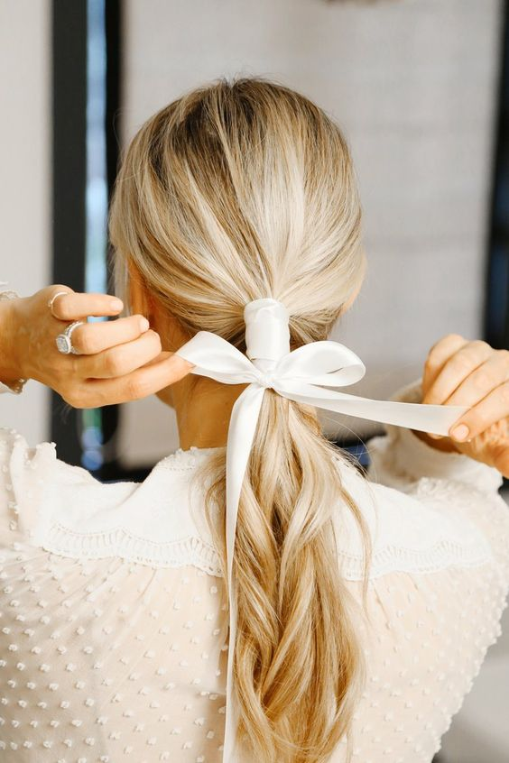 FALL'S HOTTEST HAIR ACCESSORY: THE RIBBON — 3 WAYS YOUTUBE TUTORIAL
