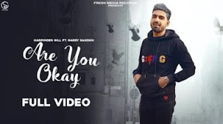 Are You Ok Lyrics in English  – Harpinder Gill x Garry Sandhu