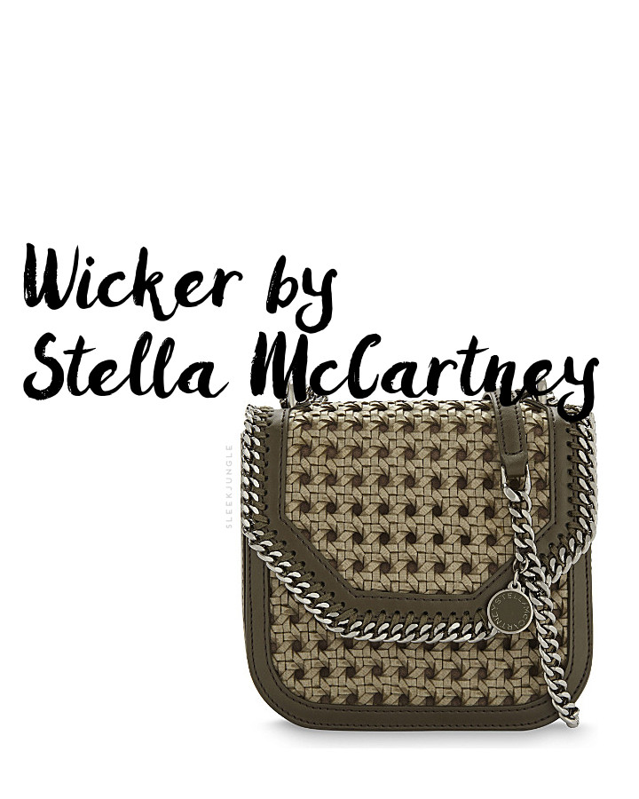 wicker stella mccartney trenzado cannage mimbre