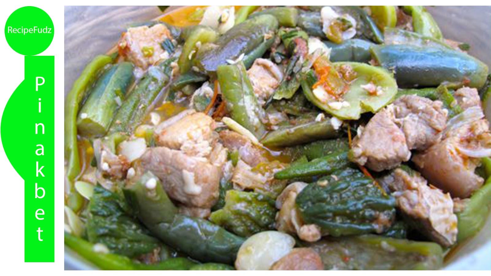 Recipefudz Pinakbet Ilocano Recipe