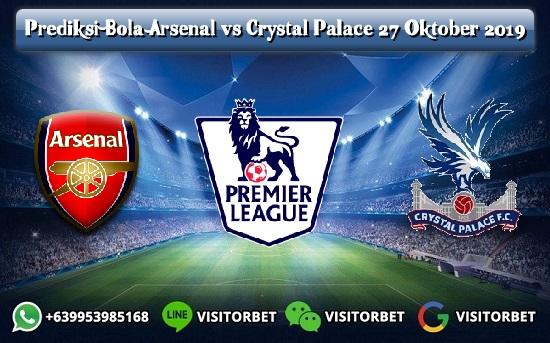 Prediksi Skor Arsenal vs Crystal Palace 27 Oktober 2019