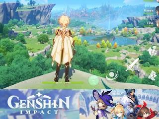 Genshin Impact Mobile Download Resmi dan Gratis