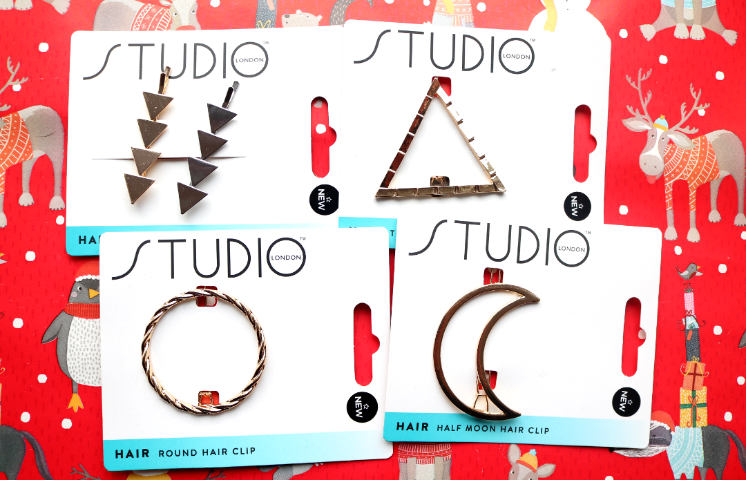 Superdrug Studio London Metal Hair Accessories