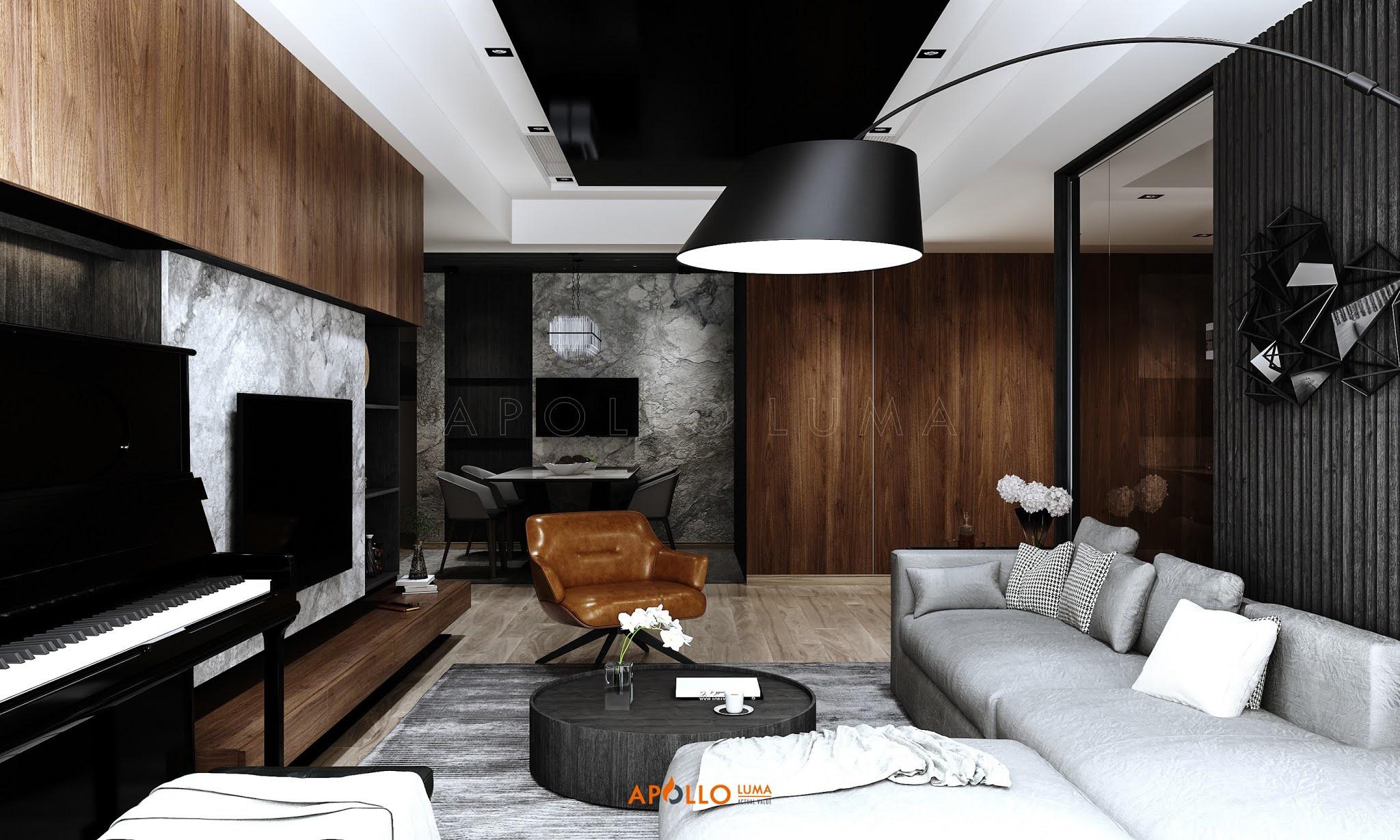 Thiết kế nội thất căn 4PN (145m2) Vinhomes Metropolis Liễu Giai