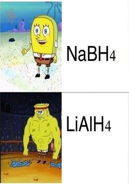 ماهو الأختلاف بين NaBH4 و LiAlH4 ؟؟