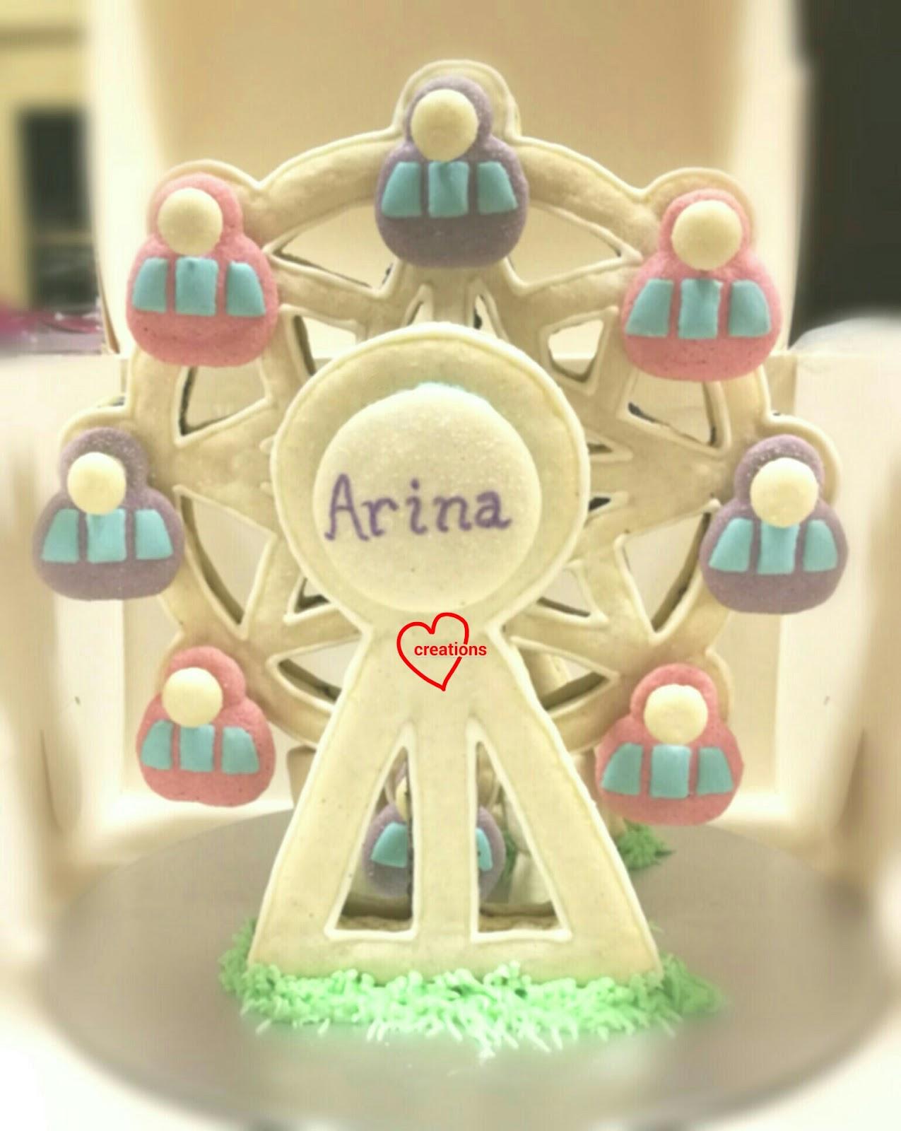 Loving Creations For You Cookies N Cream Macaron Ferris Wheel