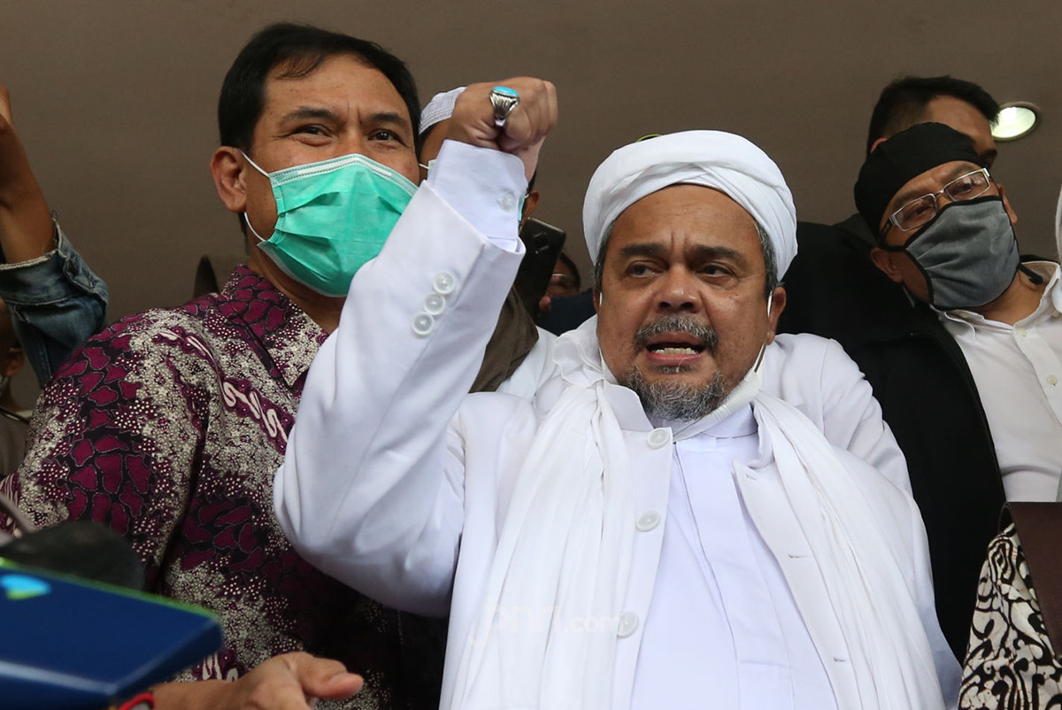 Habib Rizieq Singgung Kerumunan di Bandara Lebih Besar dari Petamburan, Tapi Tak Diproses Hukum
