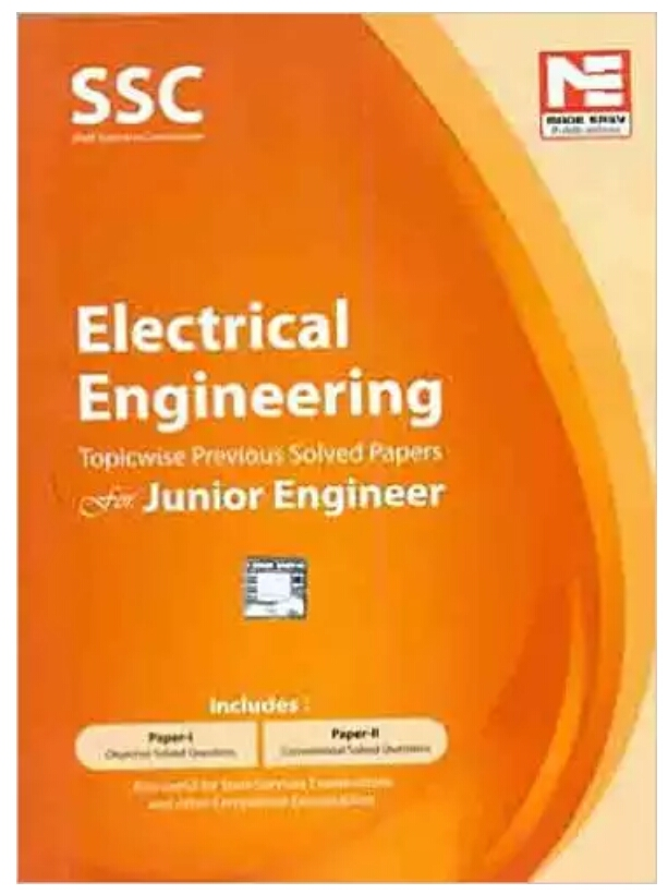 ssc je electrical engineering made easy topic wise solved previous