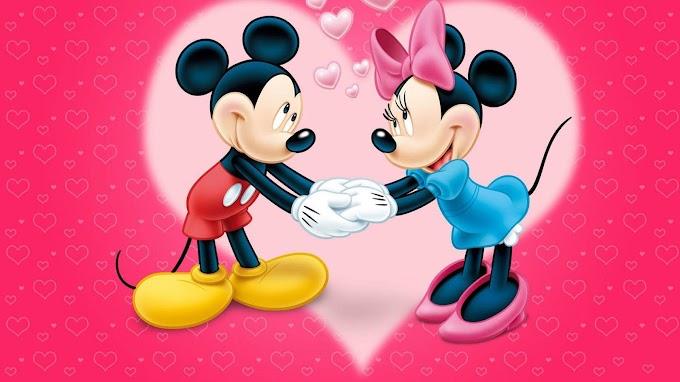 Tema Mickey e Minnie Apaixonados