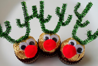 ferrero rocher reindeer -easy craft