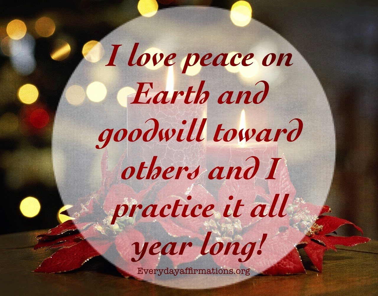 Daily Affirmations, Affirmations for Christmas, Affirmations for New Year