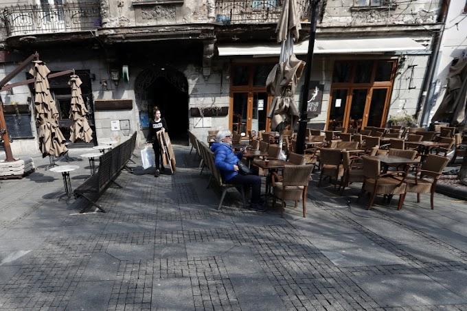 Továbbra is zárva maradnak a vendéglátóhelyek Szerbiában
