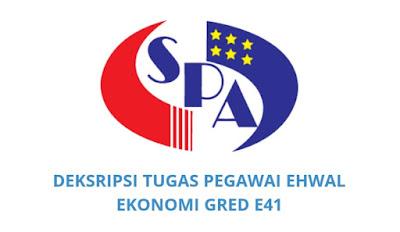 Gaji, Kelayakan & Tugas Pegawai Ehwal Ekonomi Gred E41