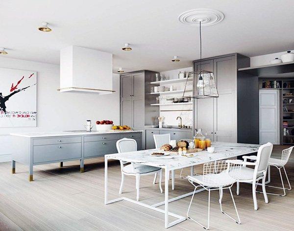 90 Desain Terbaik Ruang Makan Minimalis Untuk Ruang Sempit Rumahku Unik