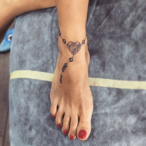 What is the meaning of bracelets and anklet tattoo patterns