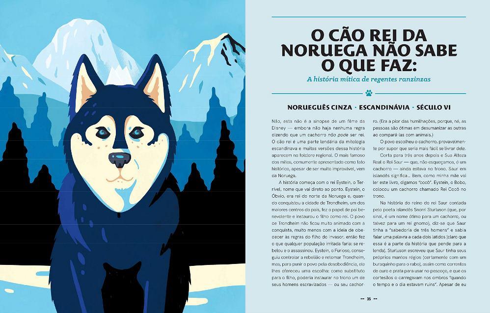 A história do mundo em cinquenta cachorros, de Mackenzi Lee