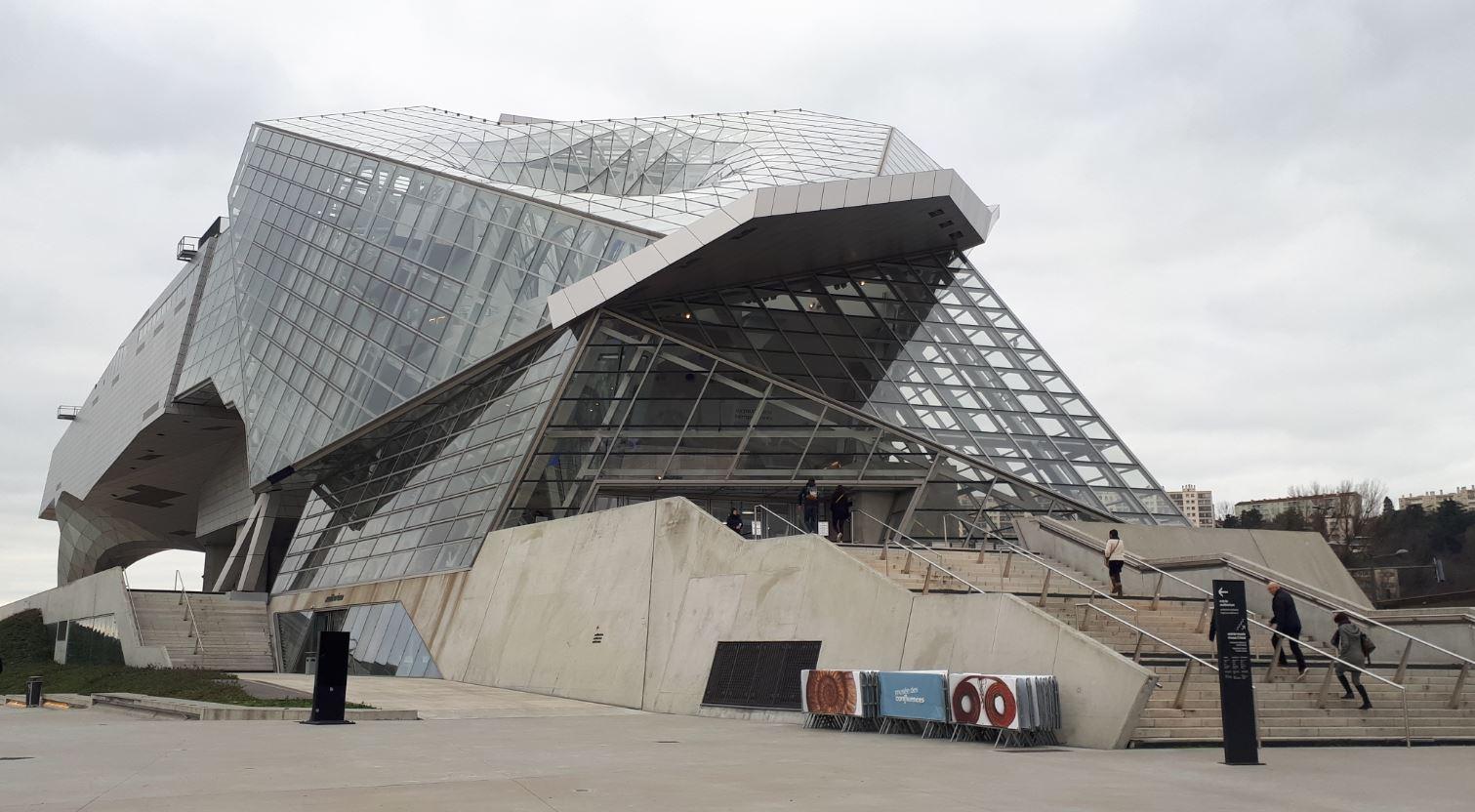 Le musée des Confluences