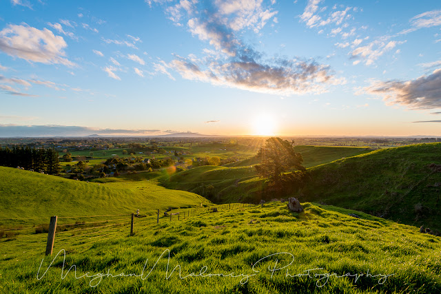 Maungakawa best sunset views Waikato