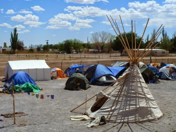 camp hope las cruces nm tent city urbanism