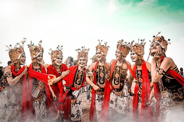 Gandrung Sewu 2019 di Banyuwangi