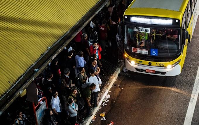 GREVE ENCERRADA: Paralização dos ônibus da Zona Leste chega ao fim na noite desta quinta-feira (21)