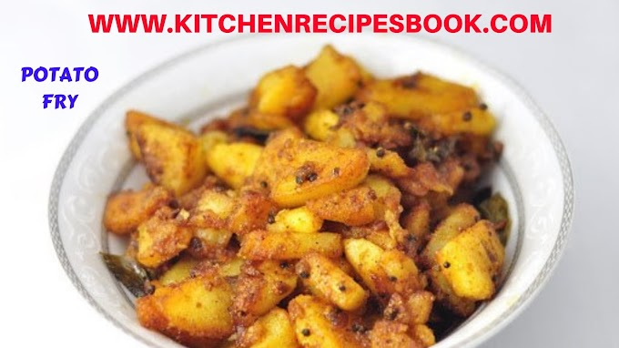 FRY POTATO(ALOO) RECIPE | MAKING OF FRY POTATO(ALOO)RECIPE: