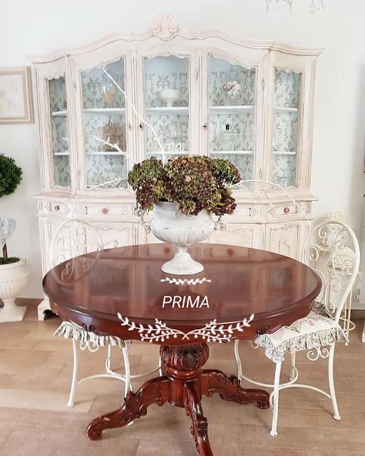 tavolo, shabby chic, decora facile, casa facile, arredamento, soggiorno, chalk paint